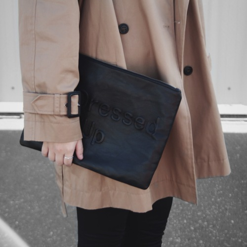 trench coat outfit details
